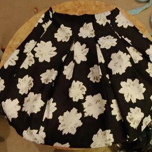 Lane Bryant floral skirt size 20